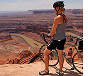 Canyonlands and Moab biking photo